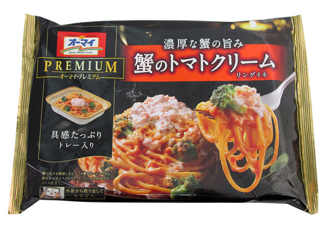 13. NIPPN OH'MY KANI NO TOMATO CREAM RINGUINE