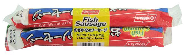 14. NISSUI FISH SAUSAGE 225 G. (75 G. X 3 PCS.)