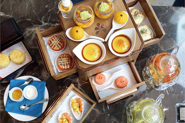 Hotel Nikko Bangkok アフタヌーンティー