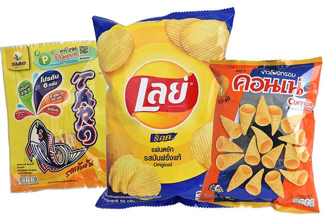 タイ人に聞いたスナック菓子ランキング