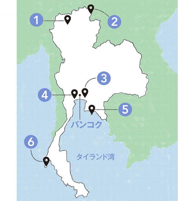 thai drama-map