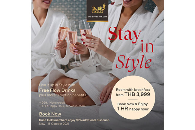 Dusit Hotels & Resorts, stay-in-style