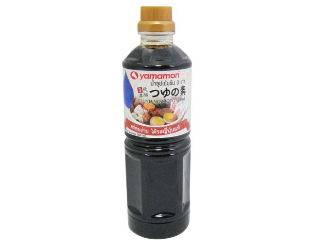 5. YAMAMORI TSUYU NO MOTO 3 BAI NOSHUKU 500 ML.