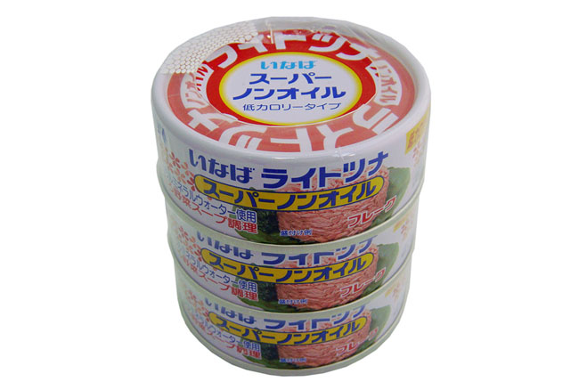 6. INABA LIGHT TUNA SUPER NON OIL 70 G. X 3 PCS.