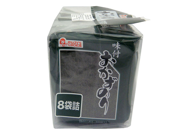 7. FUJI PB (FUJI'S CHOICE) AJITSUKE OKAZU NORI 8 PCS.