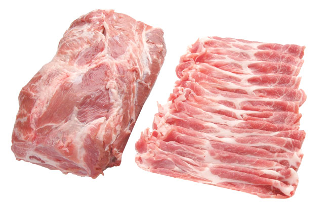 4. 豚肩ローススライス Green Pork