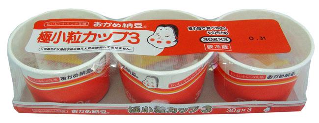 9. TAKANO FOODS OKAME GOKUKOTSUBU NATTO 30 G. X 3 PCS.