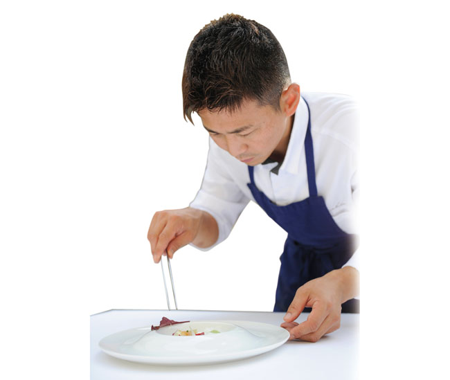 Michelin Chef Kunihisa Goto