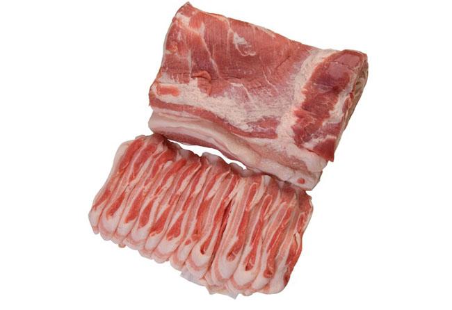 4. 豚バラスライス Green Pork